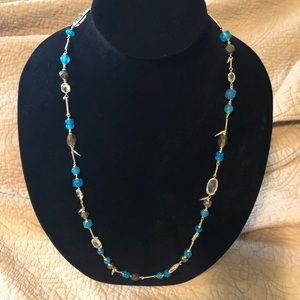 KENDRA SCOTT Ruth Necklace Teal African Turquoise